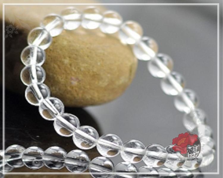 寶石級白水晶手鍊