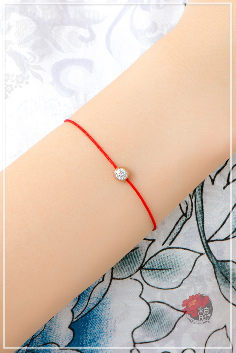 虹鳳珍賺紅線手鍊