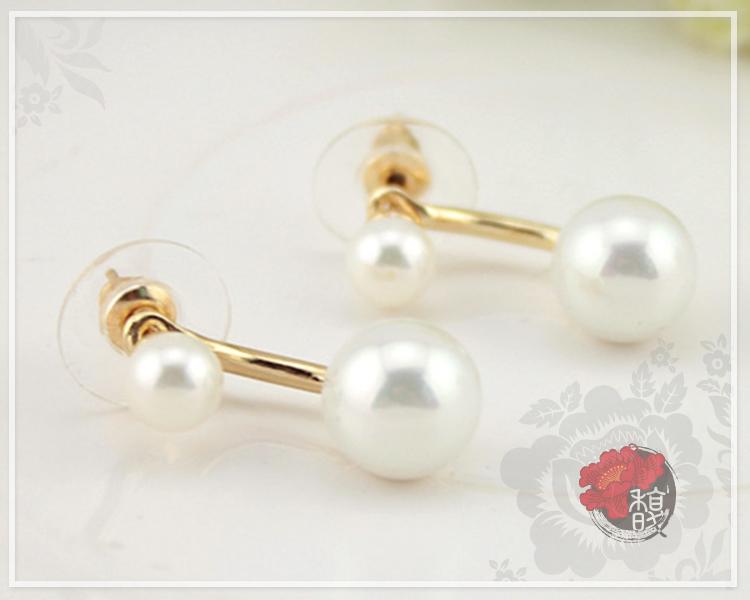 典雅細膩珍珠耳環