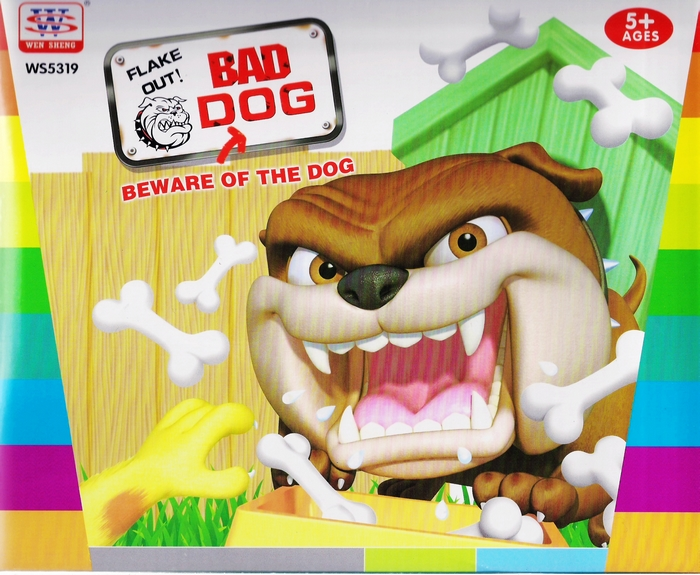 英文版 小心惡犬 BEWARE OF THE DOG 經濟型家有惡犬 桌遊 玩具