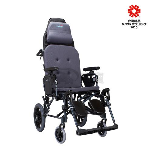 康揚 鋁合金輪椅 防滑仰躺型 潛隨挺 躺式輪椅 502 好禮三選一