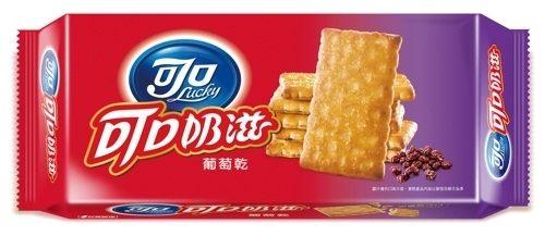 可口奶滋-葡萄乾154.8g【合迷雅好物商城】