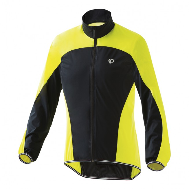 【PEARL iZUMi】PI-2300輕量口袋型風衣(男款 黑黃色)