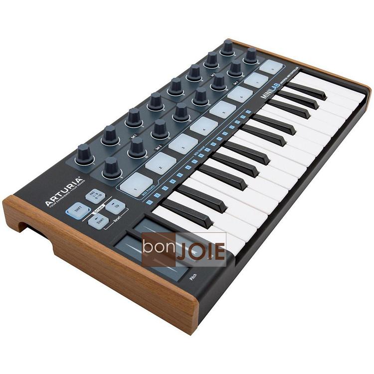 ::bonJOIE:: 美國進口 新版 Arturia MiniLab 25-Key MIDI 黑色款 音樂鍵盤 Hybrid Keyboard Controller 控制 主控鍵盤 樂器 電子樂器