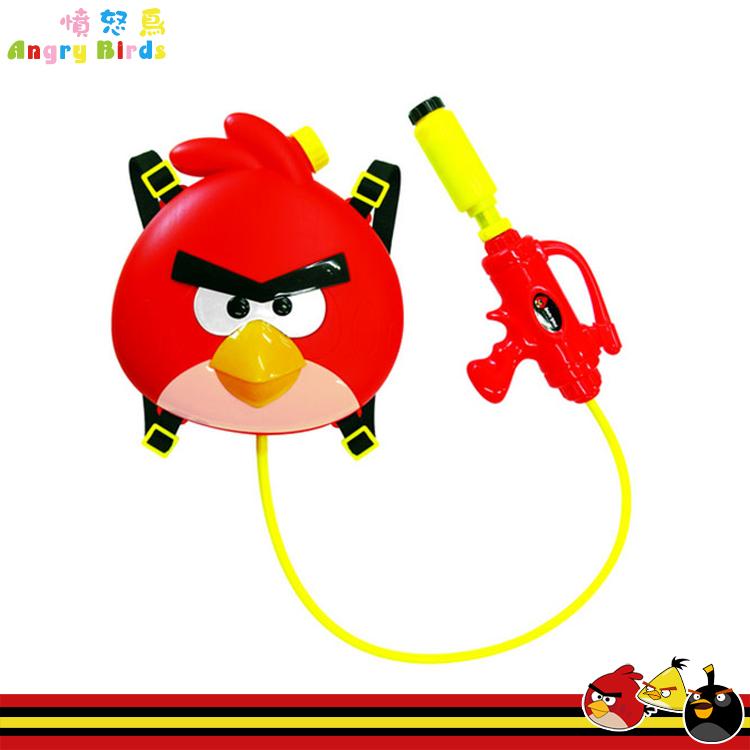 大田倉 韓國進口正版 ANGRY BIRDS 憤怒鳥 後背水槍 背包水槍 玩具 764576