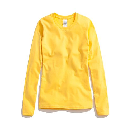 【GILDAN】亞規柔棉修身長袖T恤76400L