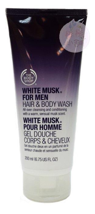 【彤彤小舖】The Body Shop 男士麝香頭髮&身體清潔露 6.75oz / 200ml