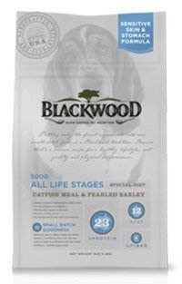 WDJ推薦 Blackwood 柏萊富天然寵糧 功能性全齡 滋補養生配方(鯰魚+珍珠麥) 1LB/1磅