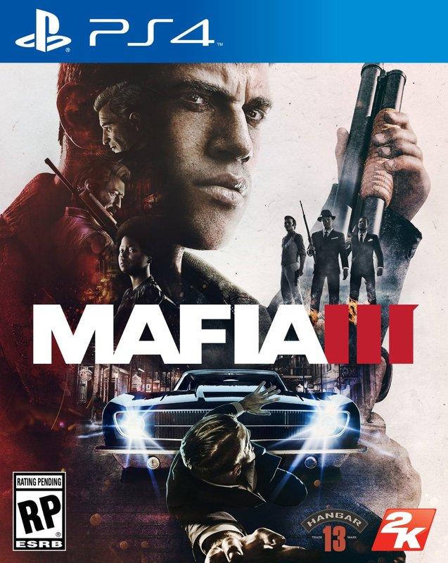 PS4 遊戲實體光碟---{四海兄弟3《Mafia III》-中文版【DR.K3C 】