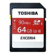 *╯新風尚潮流╭* TOSHIBA N302記憶卡 64G 64GB SDXC U3 THN-N302R0640A4