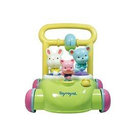 *babygo*日本Toyroyal樂雅-動物音樂助步車