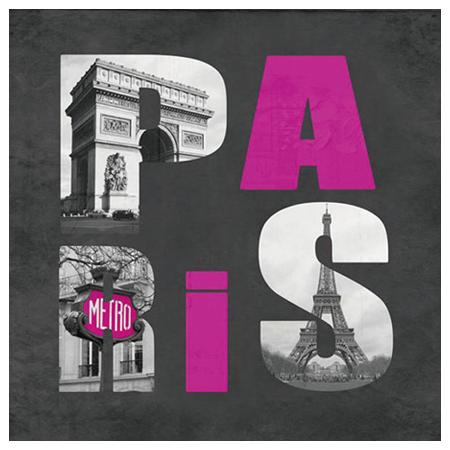 布質壁畫 PARIS 3636