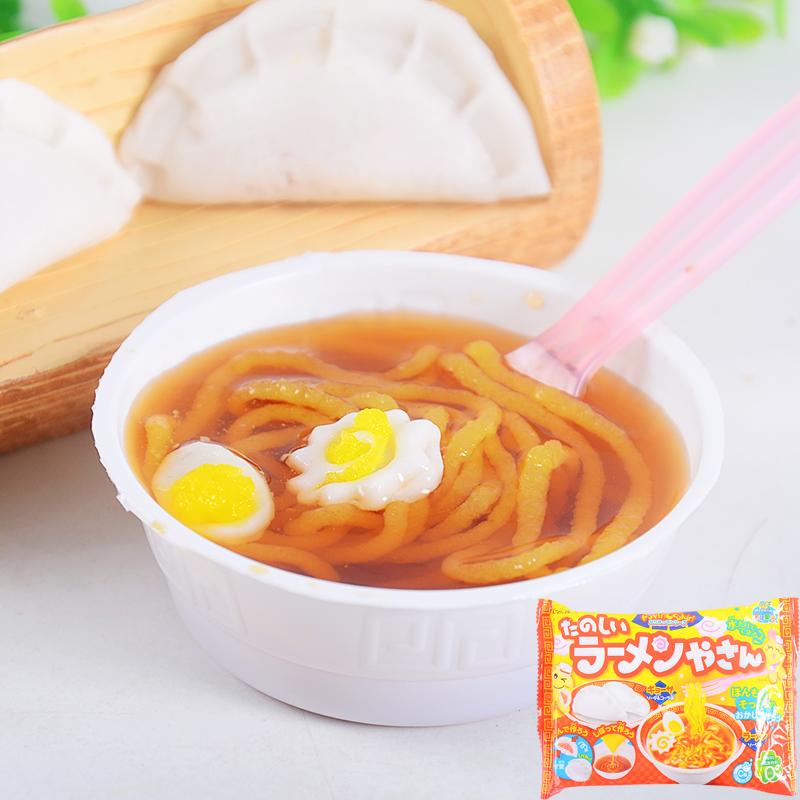 有樂町進口食品 日本 kracie popin cookin 知育?子 知育果子 生日禮 聖誕禮 兒童禮 拉麵4901551354955