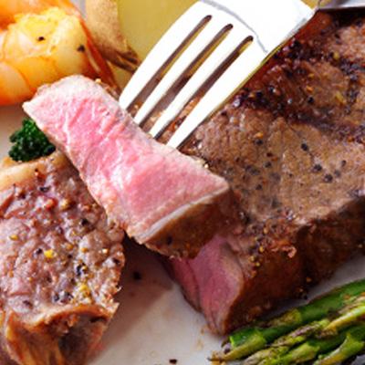 【一極肉舖】美國自然牛★USDA Prime 安格斯肋眼牛排★300g±10%