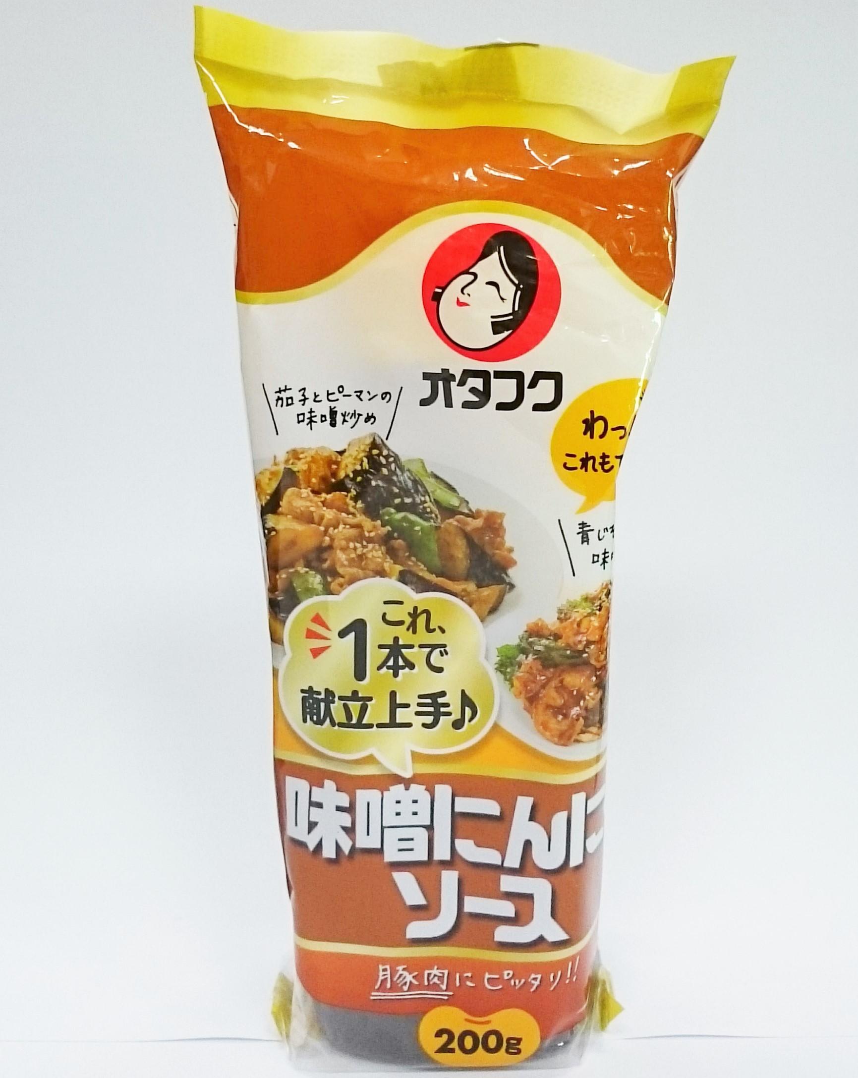 【橘町五丁目】日本 OTAFUKU 多福味噌蒜泥調味醬 炒肉片、回鍋肉、炒青椒茄子 都簡單上手
