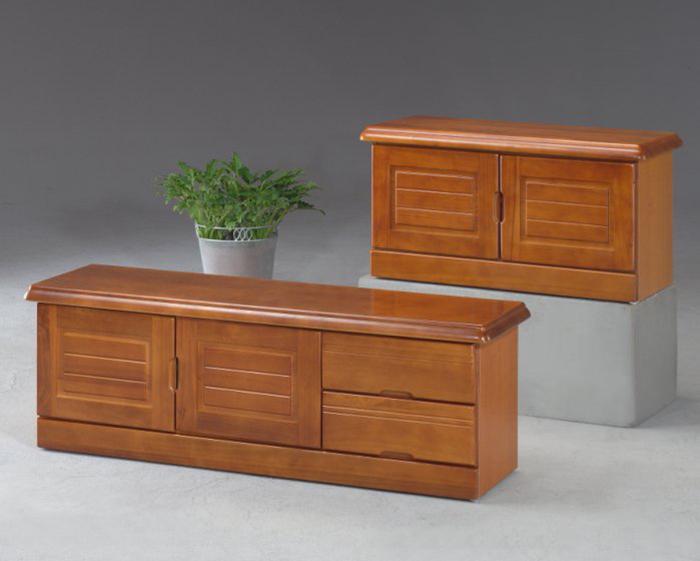 【尚品傢俱】※自運價※ Q-SN-34-6 樟木色3尺座式鞋櫃