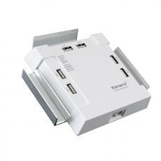 Kamera SP-66 USB 6Port電源供應器-白