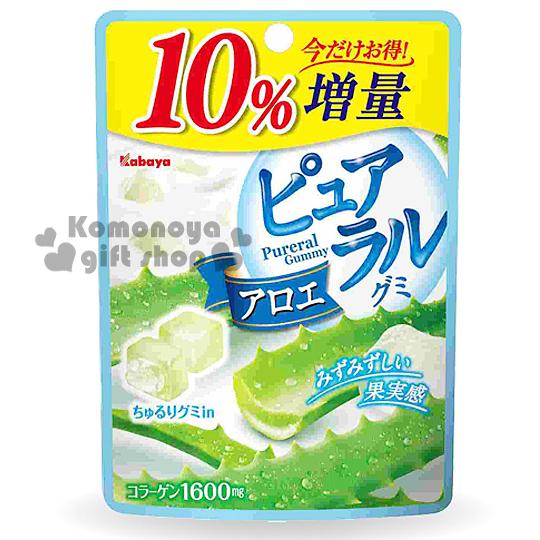 〔小禮堂〕日本原產 卡巴日向夏KABAYA 軟糖《50g》蘆薈口味.10%增量