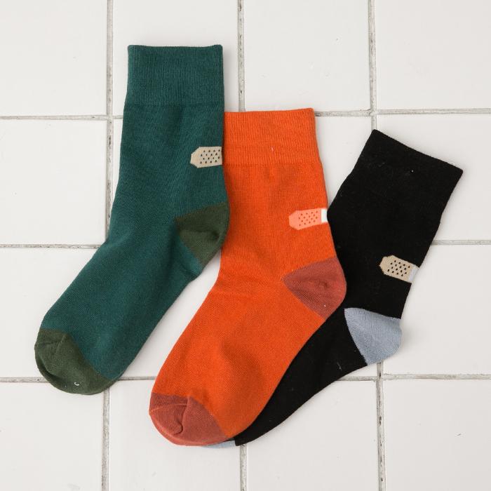 棉襪子 短襪 搞怪趣味OK蹦 韓國可愛襪子【SV5193】快樂生活網