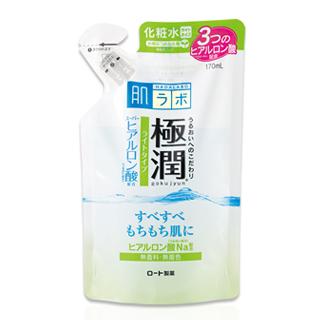 【ROHTO】肌研極潤保濕化妝水補充包(清爽型)