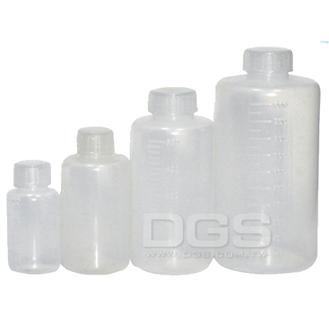 《台製 》塑膠細口瓶 Bottles, Narrow-Neck, PP Graduated
