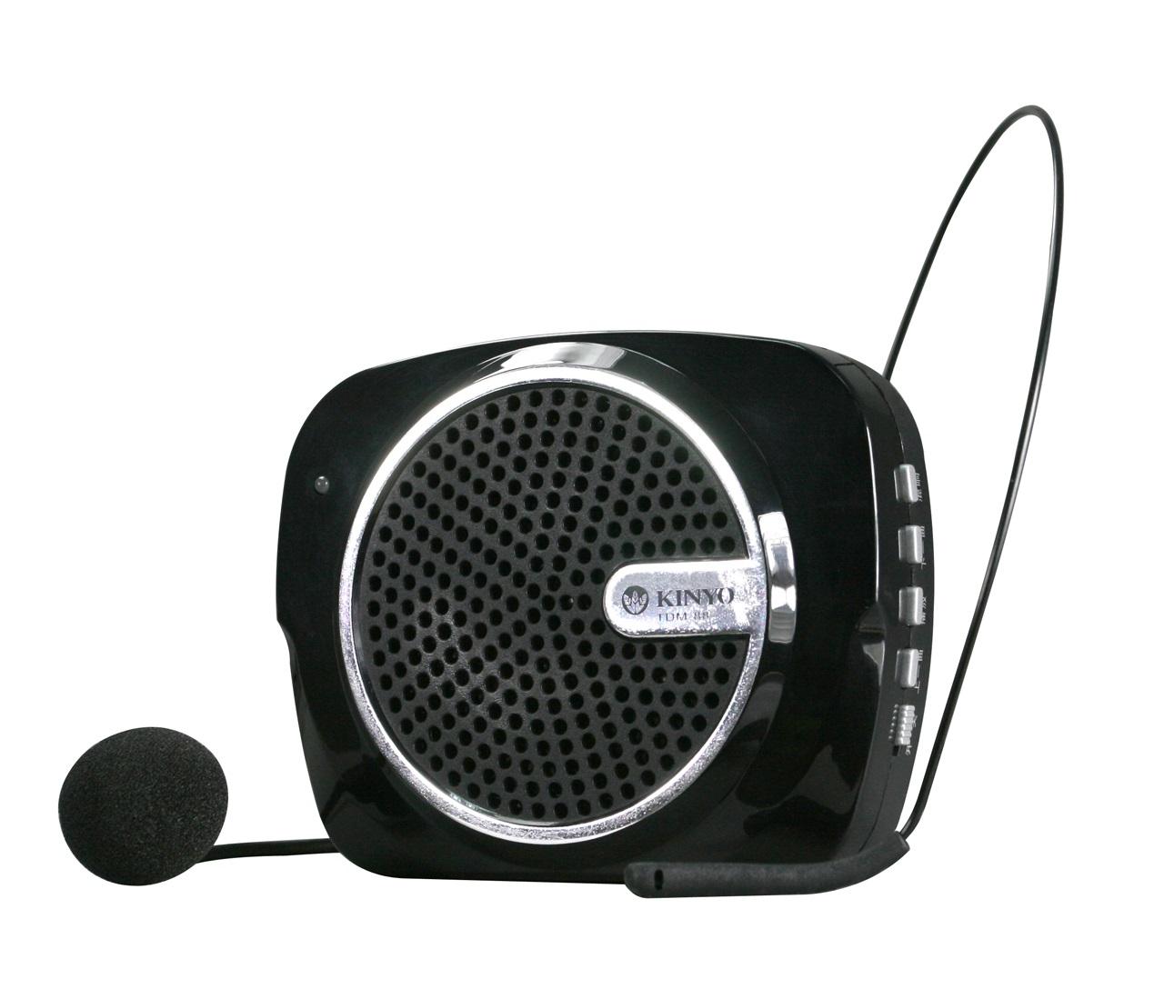 KINYO腰掛充電式多功能擴音器(TDM-88)