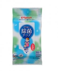 日本【Pigeon 貝親】除菌濕巾(22抽)