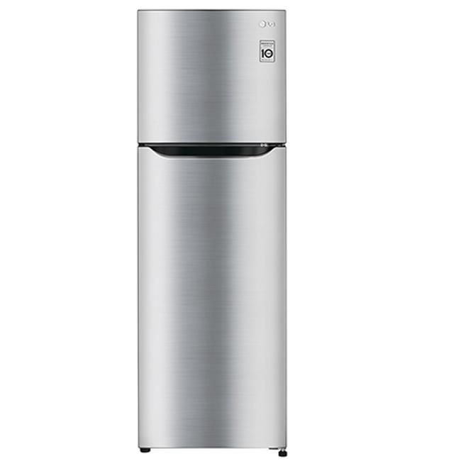 【LG樂金】253公升Smart 變頻上下門冰箱。精緻銀/GN-L305SV