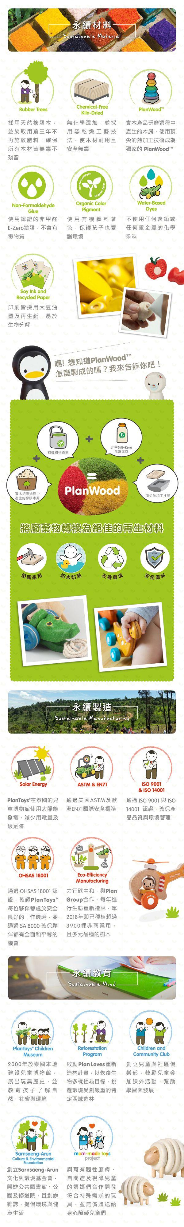 泰國 玩具 plantoys 玩具 環保 玩具
