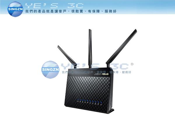 「YEs 3C」ASUS華碩 RT-AC68U雙頻無線 AC1900 Gigabit 路由器 USB 3.0 免運