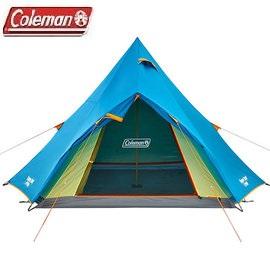 [ Coleman ] WINDS LIGHT印地安帳篷 / 4-5人帳 / 公司貨 CM-22044