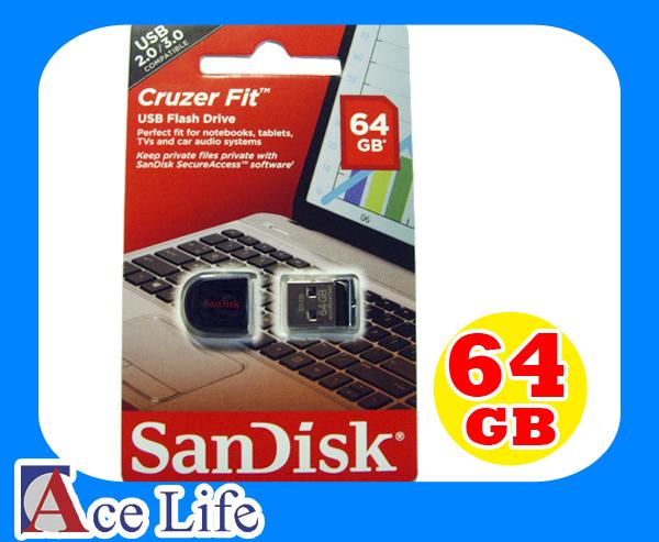 【九瑜科技】Sandisk 64G 64GB Cruzer Fit SDCZ33 CZ33 CZ 33 Drive USB 2.0 隨身碟 快閃碟 U盤 原廠包裝 另有 DT101G2 16G 32G