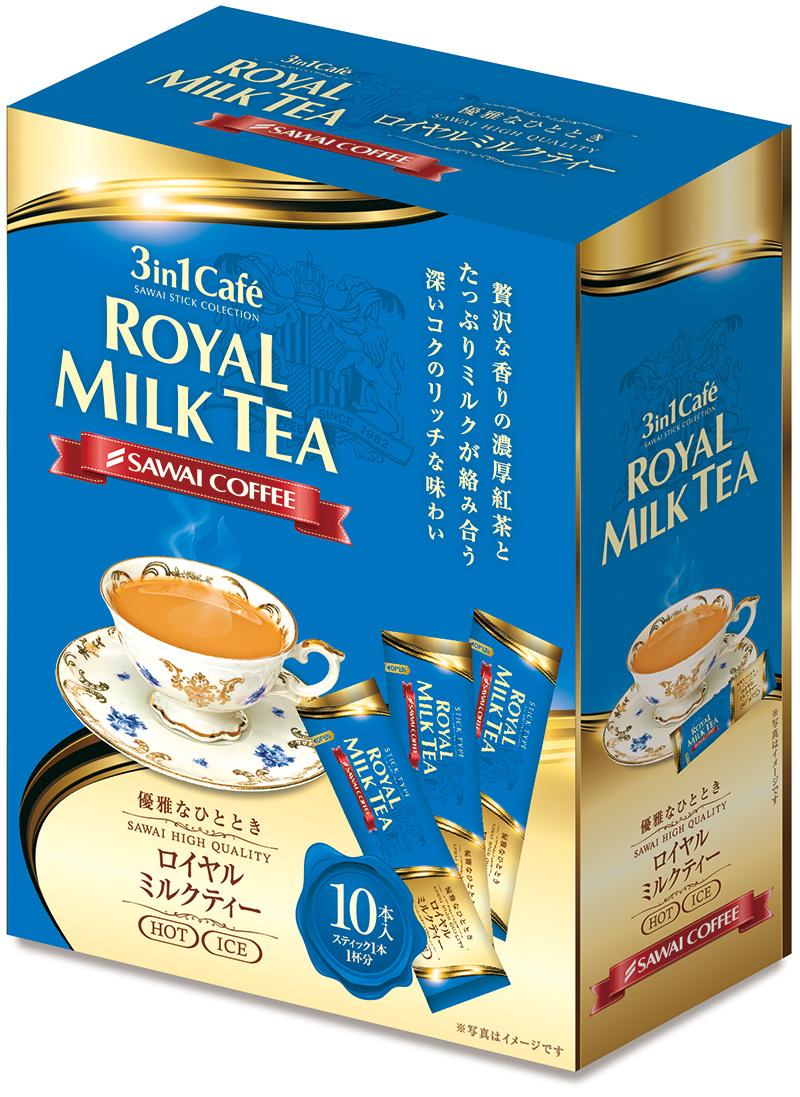 澤井咖啡 3IN1 皇家奶茶