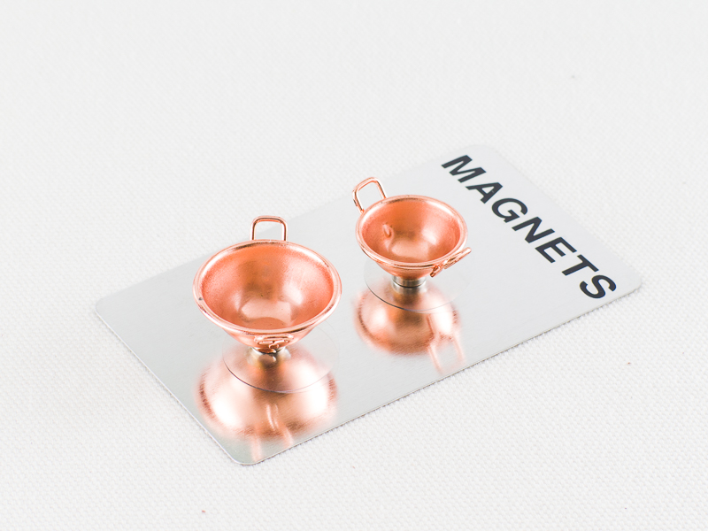 *小徑文化*日本進口 DULTON 迷你磁鐵 銅碗 ( S426-199BS ) 二件組
