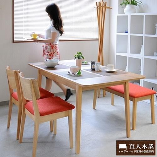 【日本直人木業】START簡單美學餐桌椅-一桌2椅1長凳