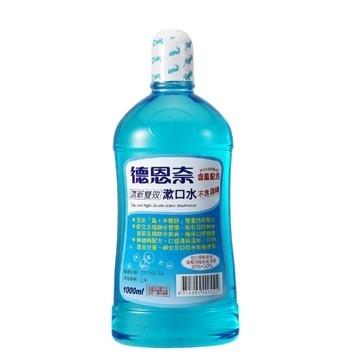 德恩奈 清新雙效 漱口水 500ml/瓶★愛康介護★