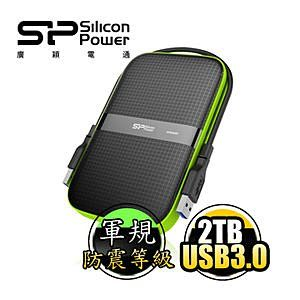 [NOVA成功3C]  廣穎 Silicon Power Armor A60 2TB USB3.0 2.5吋行動硬碟 喔!看呢來