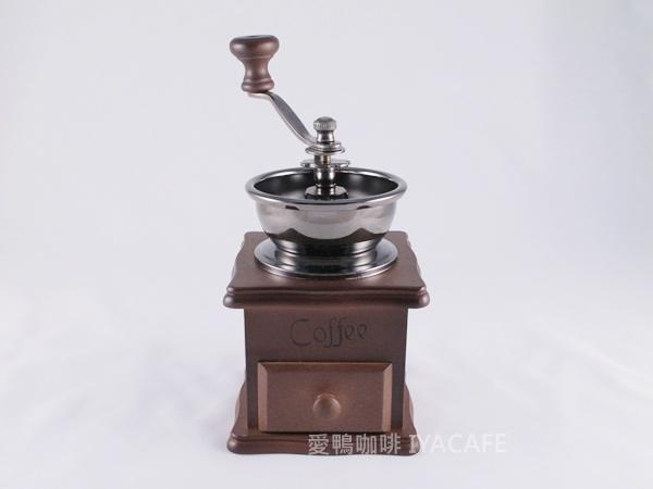《愛鴨咖啡》迷你手搖磨豆機 陶瓷刀盤 贈清潔毛刷一支(限量販售)
