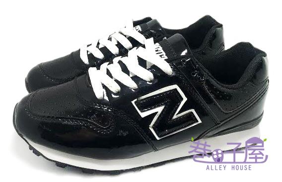 【巷子屋】Limitless利米堤司 女款韓風N字運動慢跑鞋 [1367] 黑 超值價$298