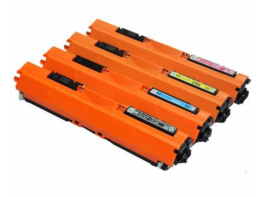 HP 環保碳粉匣CF350A黑色/CF351A藍色/CF352A黃色/CF353A紅色 單支任選 130A 適用HP Color LaserJet Pro MFP M176 /MFP M177fw雷射..