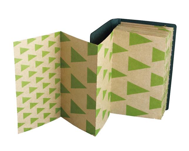*小徑文化*日本進口山櫻紙品 +lab 折疊備忘錄 - 三角 ( 351109 )
