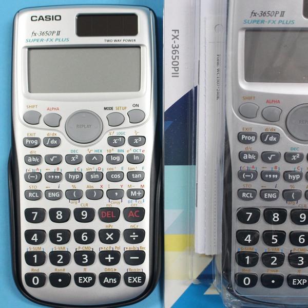 CASIO卡西歐 FX-3650P II 工程型計算機/一台入{定990}~308含數.功能.全新有保固.有中文說明書
