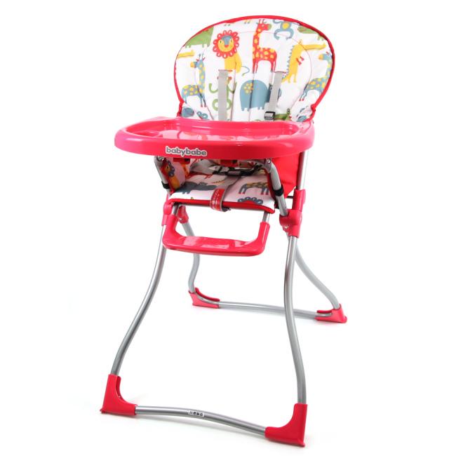 『121婦嬰用品館』同富 兒童高腳餐椅 - 紅