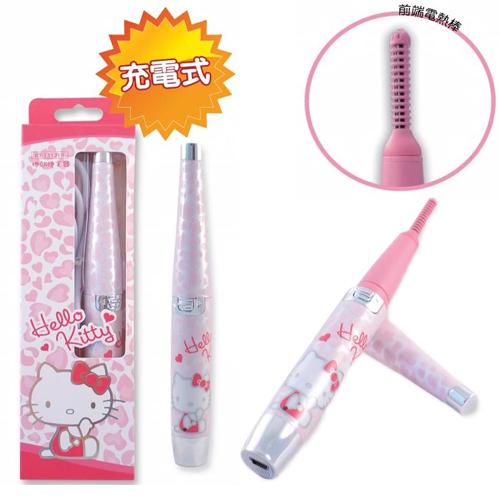 【真愛日本】15120100035捲翹燙睫毛器-愛心粉  三麗鷗 Hello Kitty 凱蒂貓  美容器材 歌林 捲燙睫毛 正品