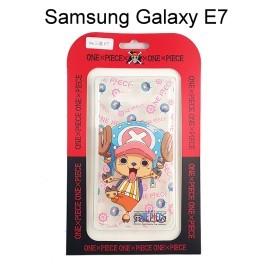 海賊王透明軟殼 [帽子] 喬巴 Samsung E700Y Galaxy E7 航海王保護殼【正版授權】