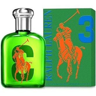 香水1986☆Ralph Lauren Polo BIG PONY #3 冒險男性淡香水香水空瓶分裝 5ML