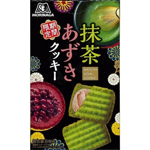 森永盒裝抹茶紅豆夾心餅 92g
