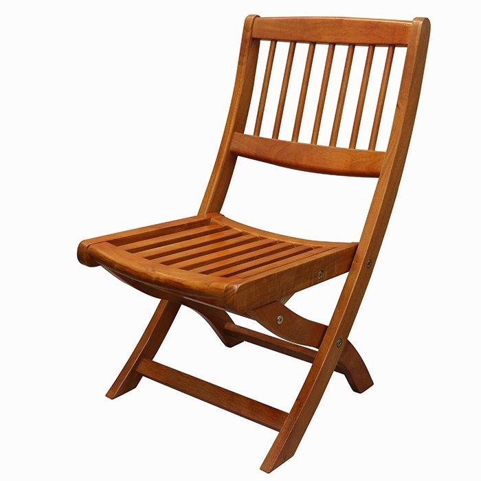 【尚品傢俱】※自運價※ Q-659-11 維吉尼亞 實木折疊椅/餐椅/Taboret/Folding Stool