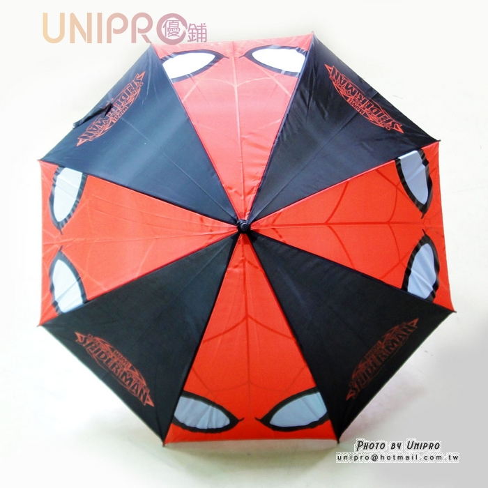【UNIPRO】Marvel 蜘蛛人 Spider Man 直傘 雨傘 8K 正版授權