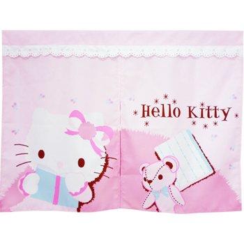 【真愛日本】9050100001 短門簾-粉紅抱熊  三麗鷗 Hello Kitty 凱蒂貓 門簾 寢具用品 正品